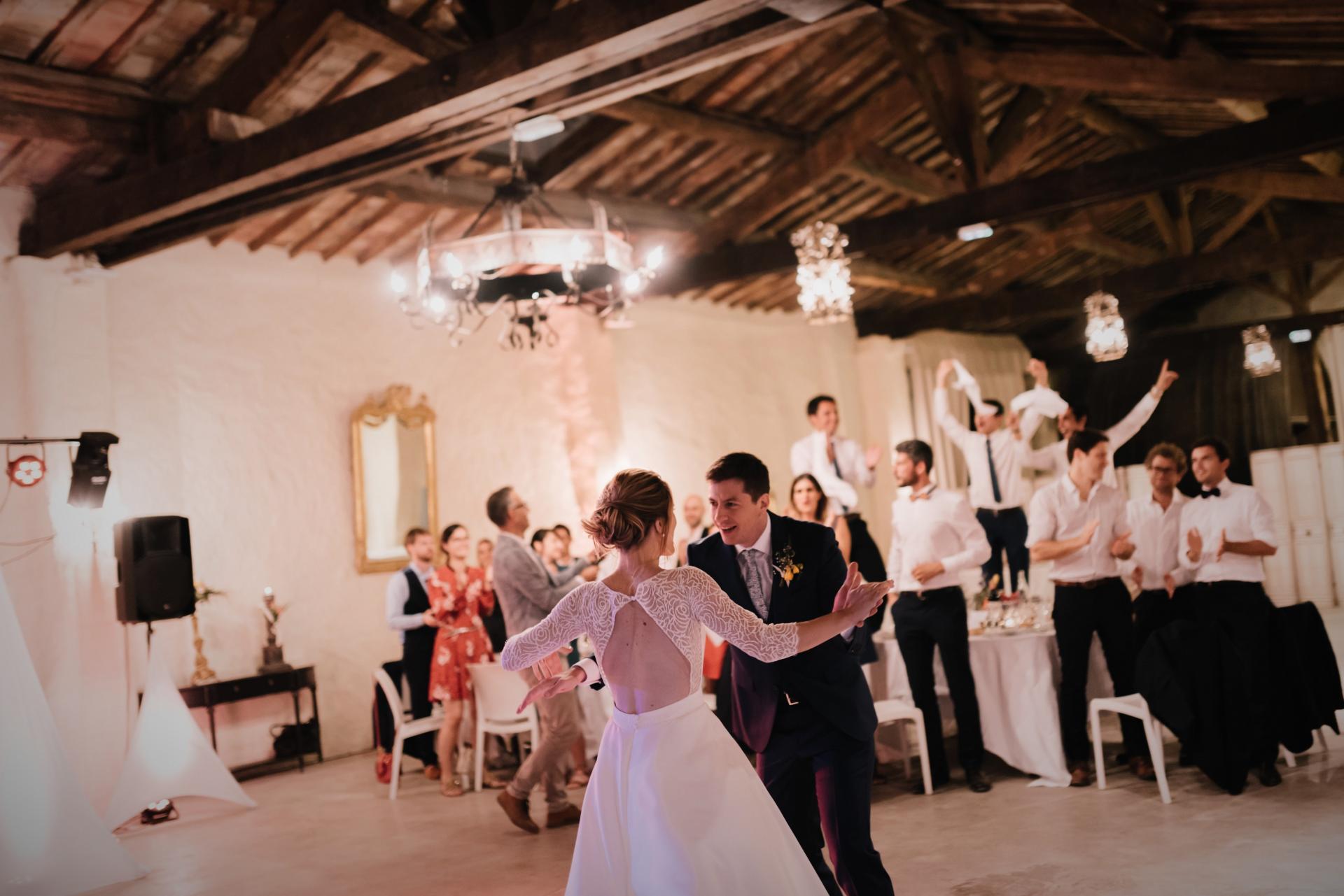 Mariage château de Pouget